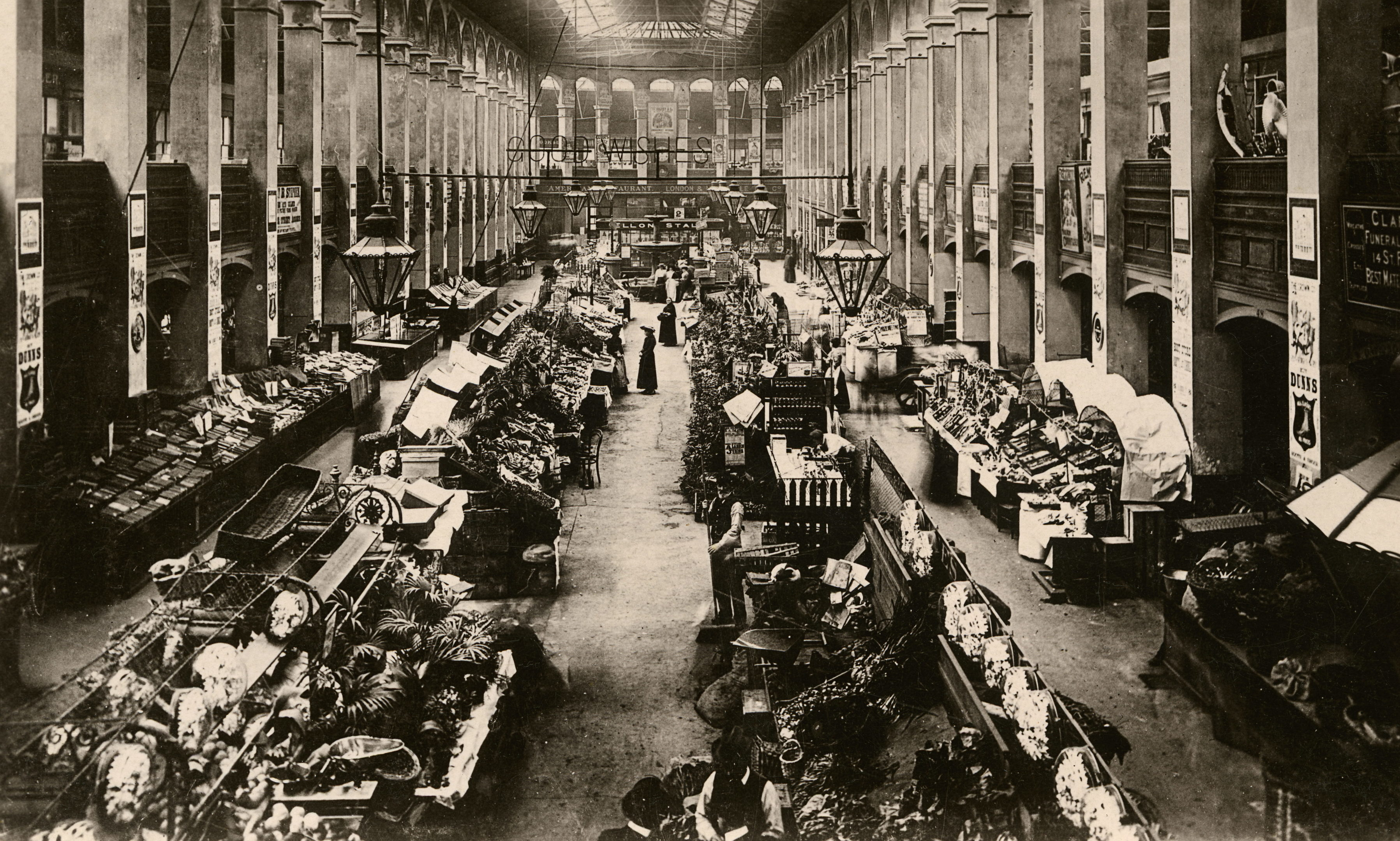 Interior of the New Market