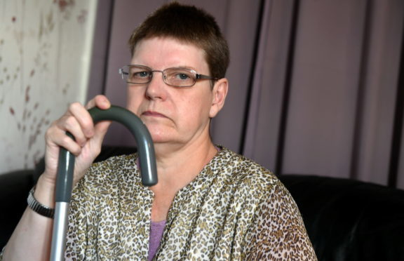 Margaret Swanson was robbed of her personal belongings as she sat in another room of her house