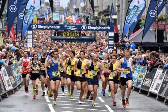 Last year's Great Aberdeen Run