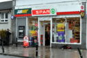 The scene at the Spar on Clifton Road