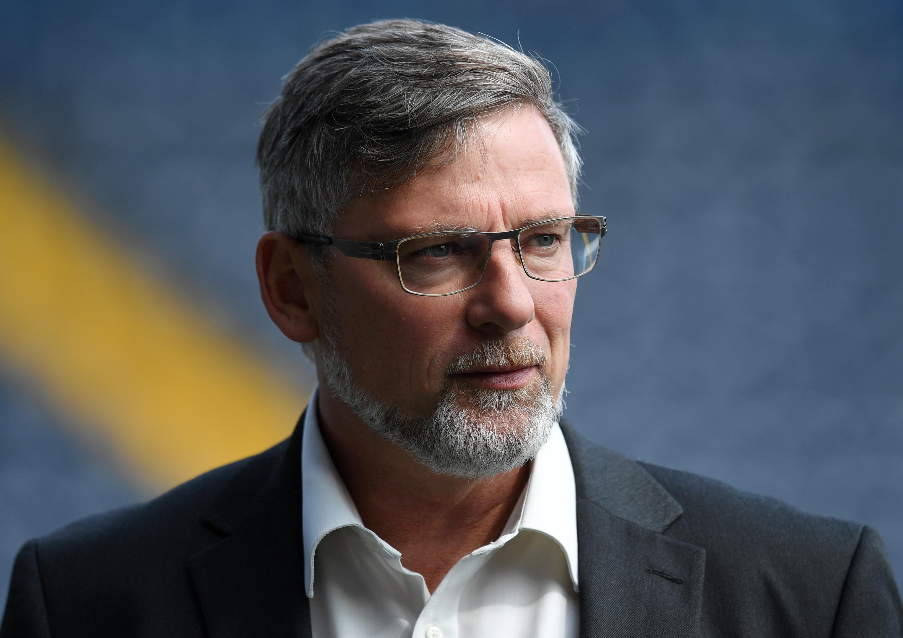 Hearts manager Craig Levein.
