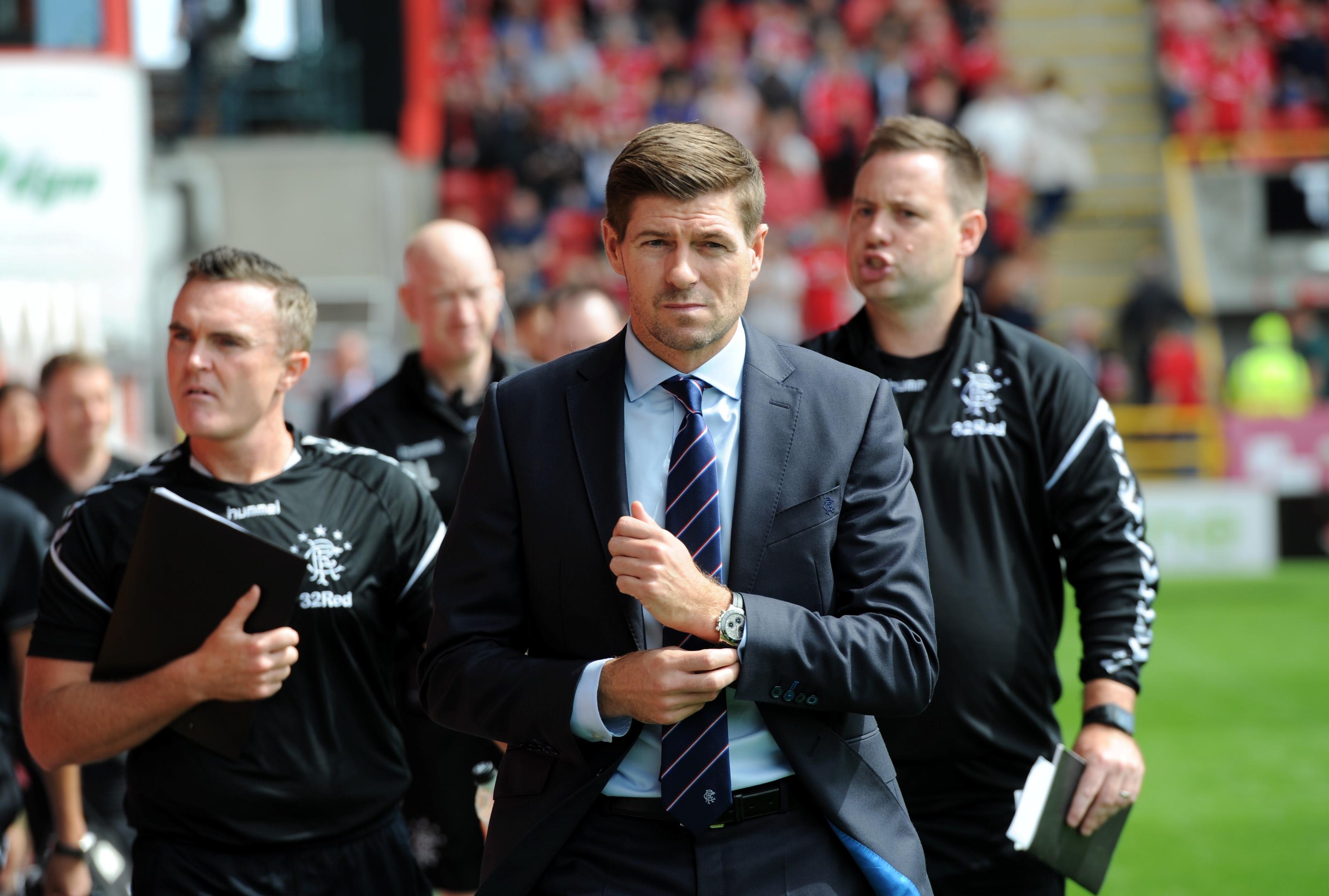 Steven Gerrard. Picture by Darrell Benns