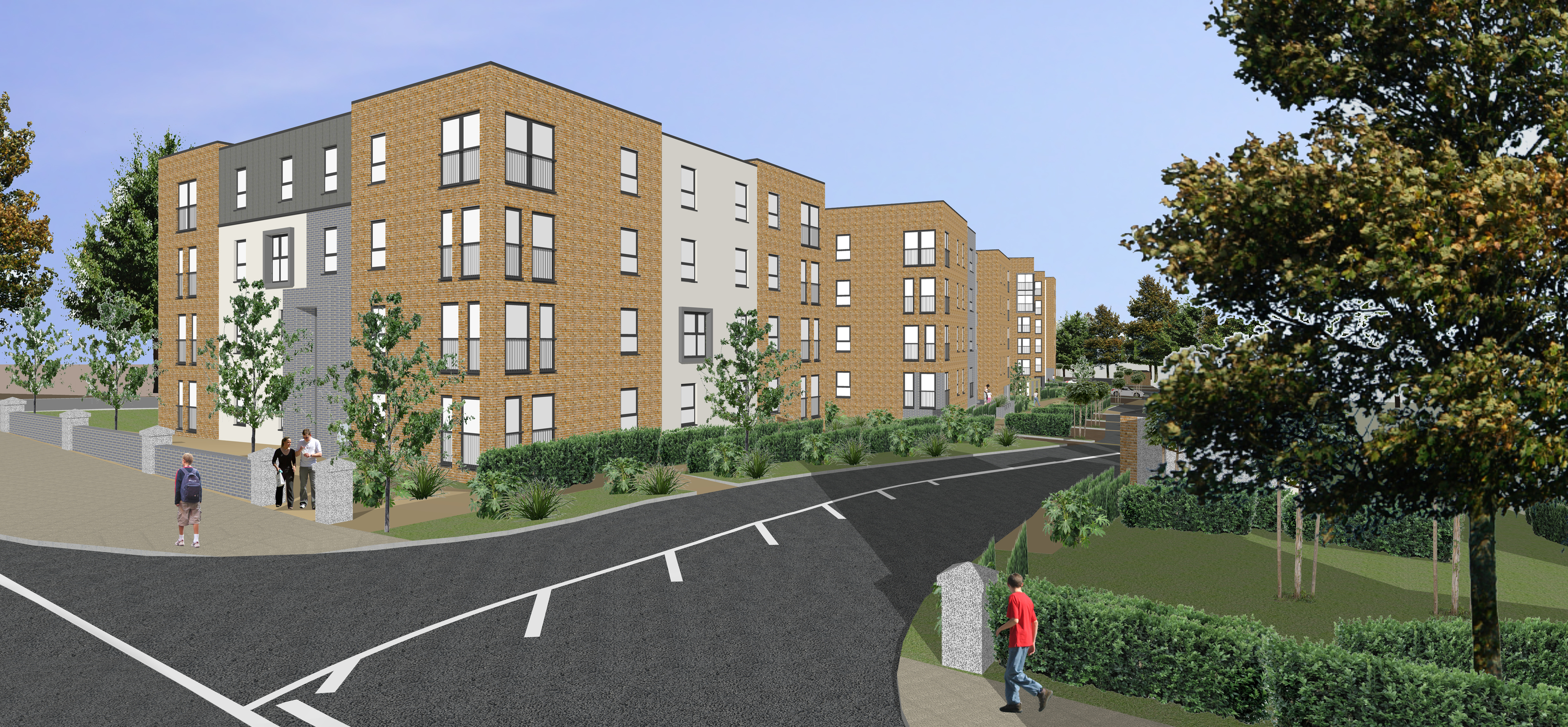 How the homes could look on Abbotswell Road