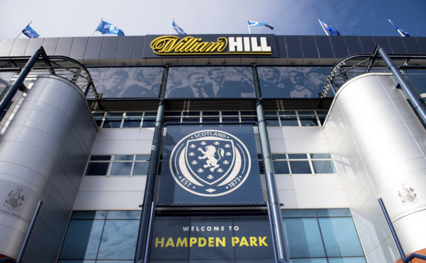 Hampden Park, home of the SFA and SPFL