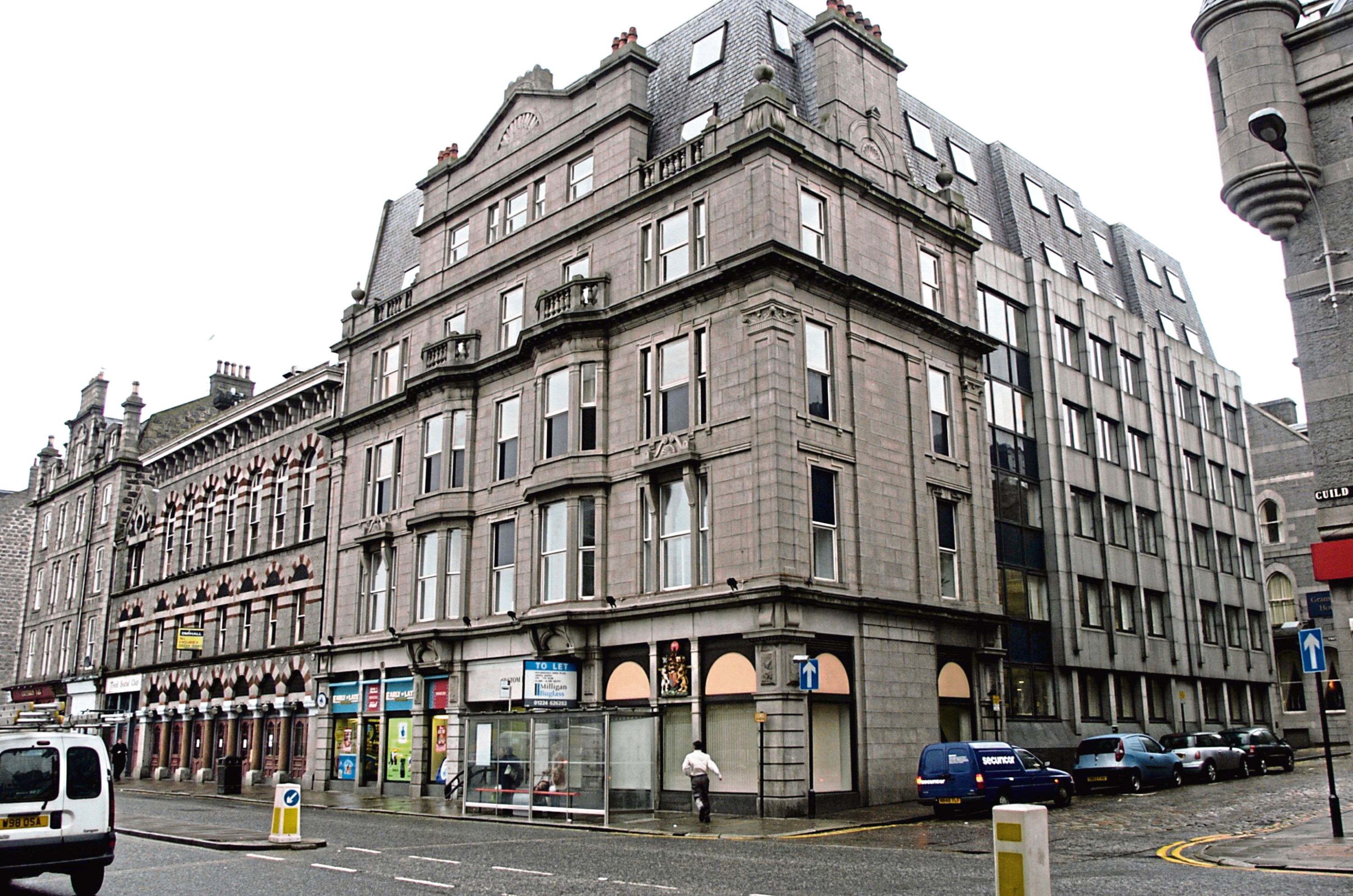 Custom House, where Mandale Construction has applied for permission to build a new 106-bedroom hotel
