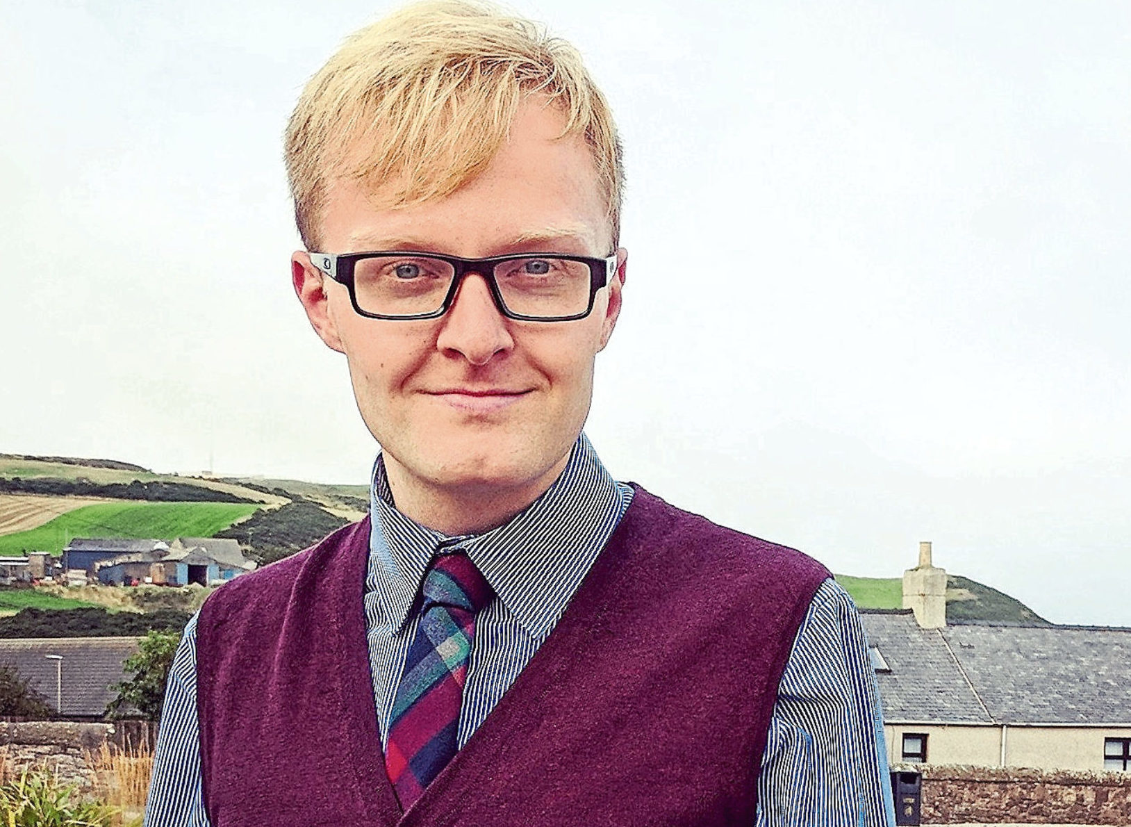 Mearns councillor Leigh Wilson is part of the new Social Democratic group.
