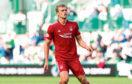 Aberdeen's James Wilson on his Dons debut.