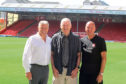 Dave Cormack, Bobby Clark and Neil Simpson