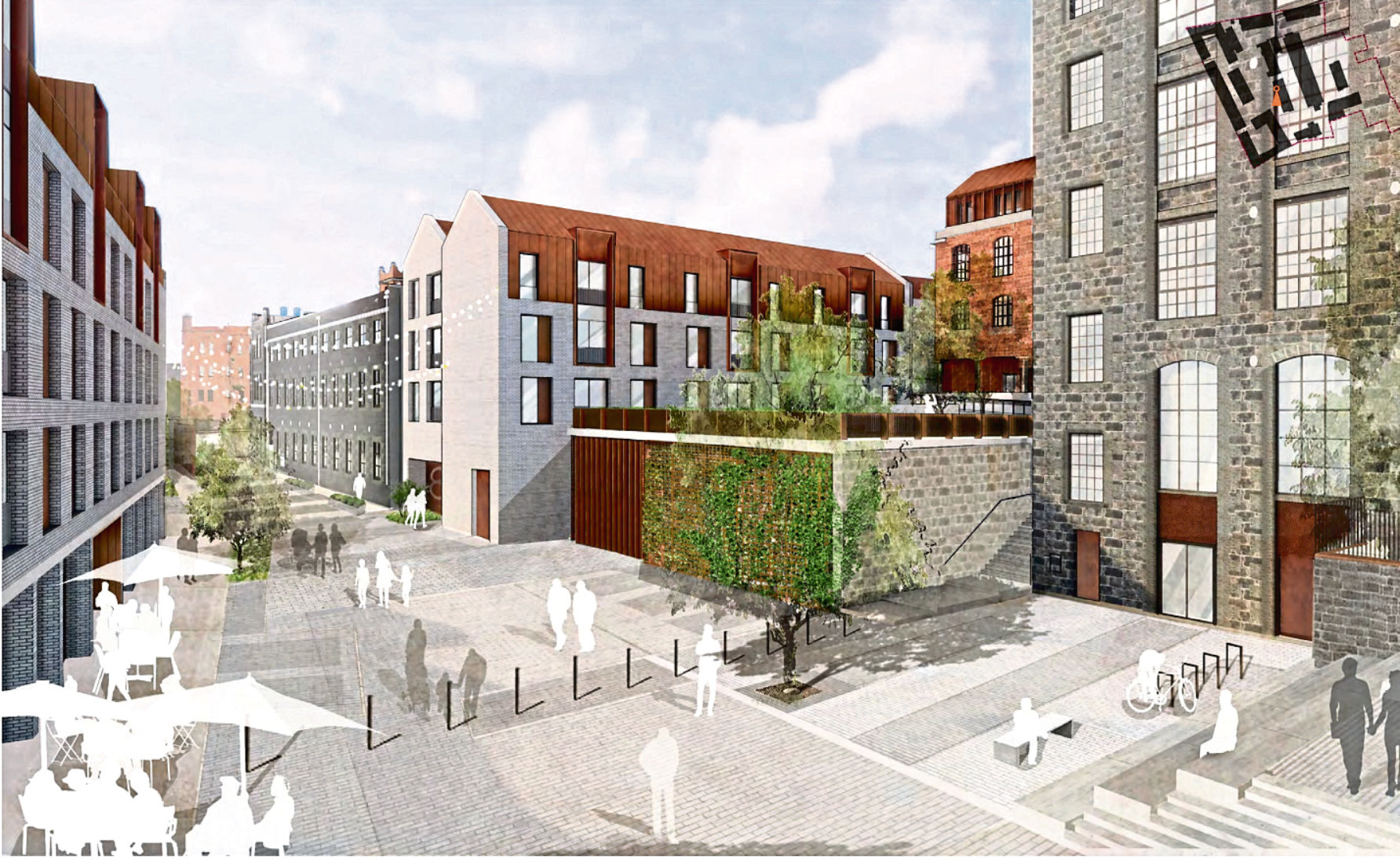 The plans for the £100 million 'urban village' at Broadford Works