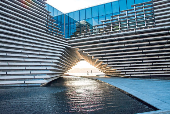 The V&A museum in Dundee