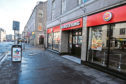 The offence took place outside Burger King on Union Street, Aberdeen