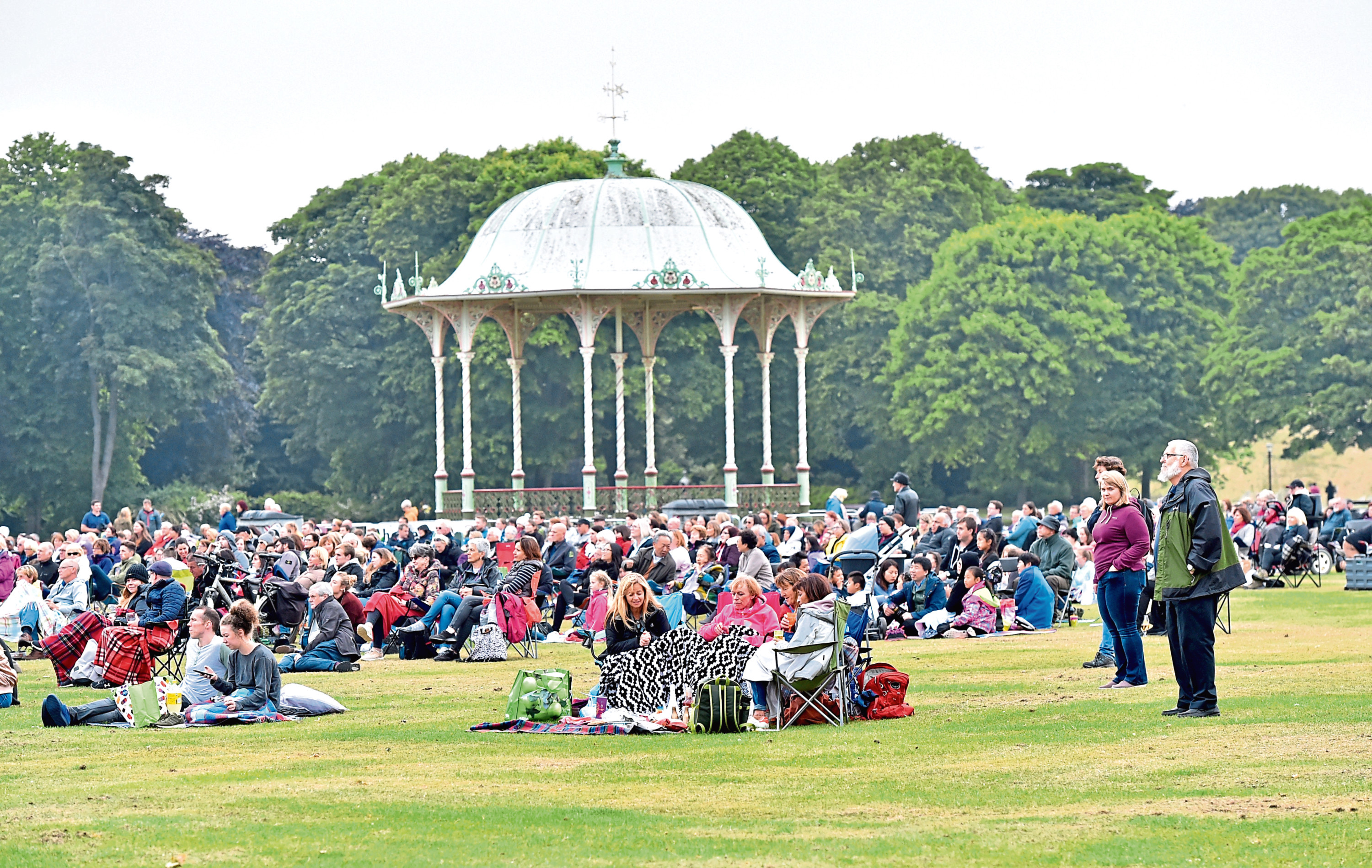 Duthie Park is earmarked for funding from Aberdeen City Council