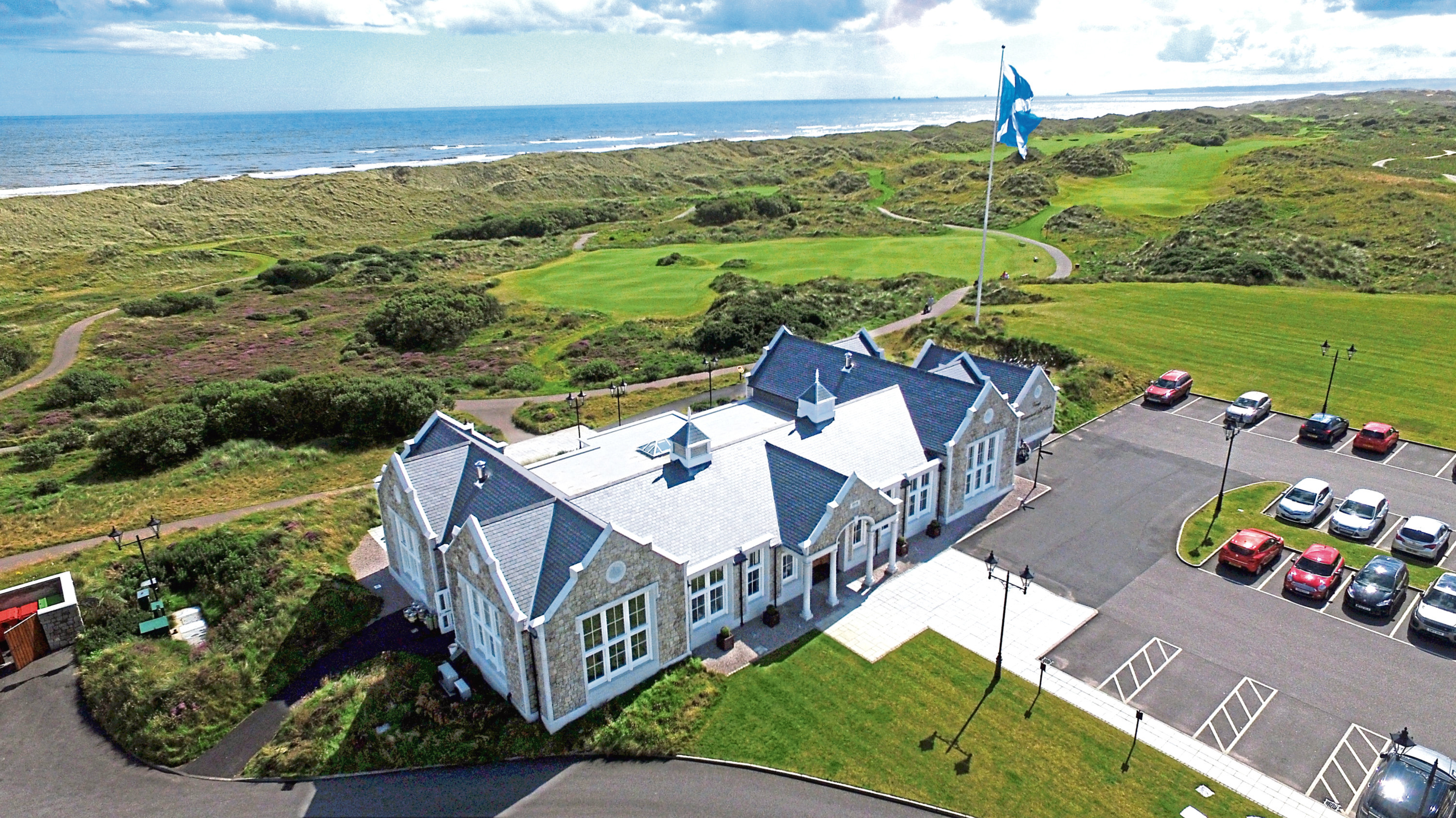 Trump International Golf Links has now shut temporarily in accordance to the Government's new lockdown measures