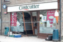 The aftermath of the incident at Costcutter