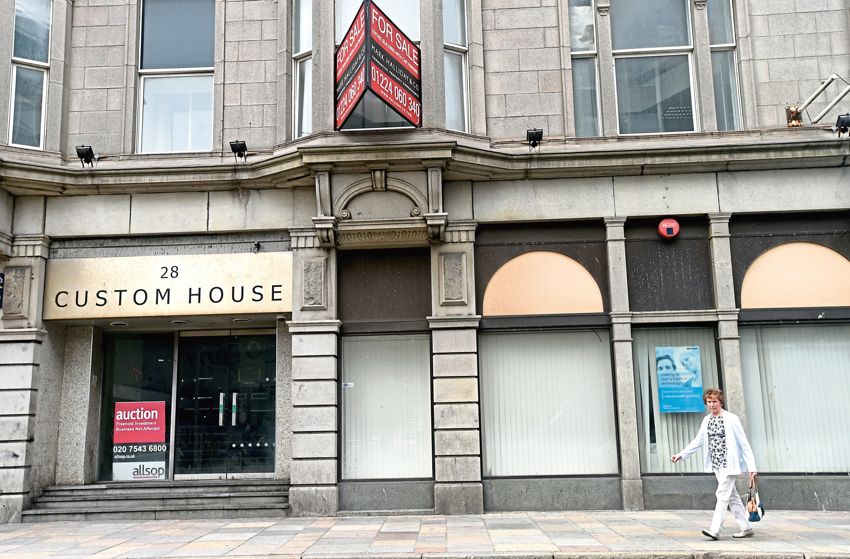 Custom House on Aberdeen's Guild Street