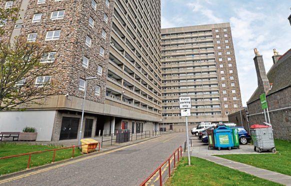Hutcheon Court and Greig Court in Aberdeen