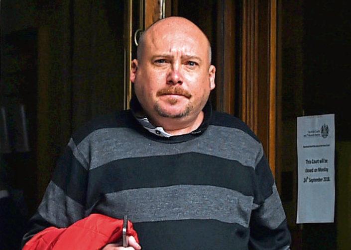 Emile Paszet at Aberdeen Sheriff Court