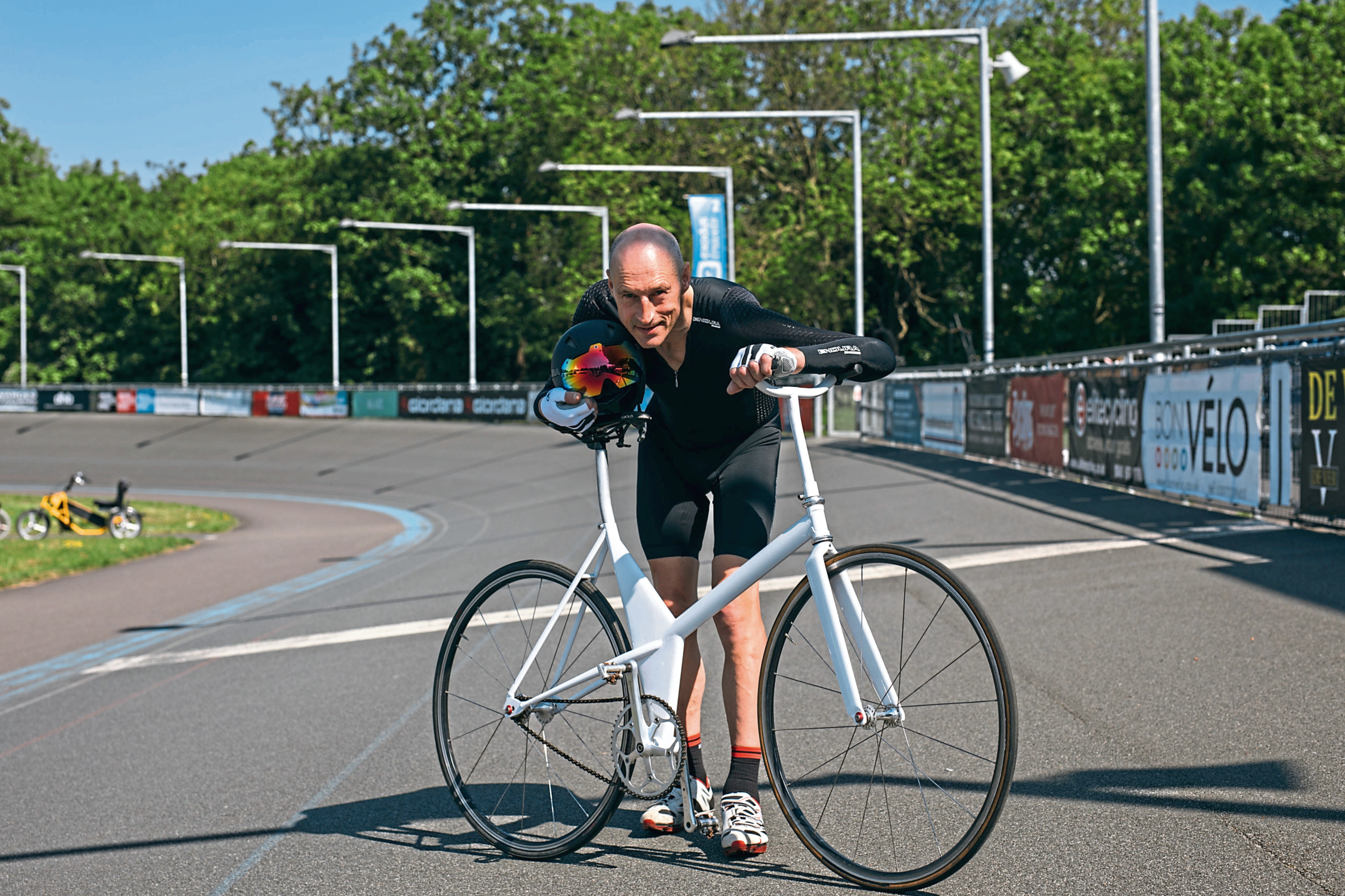 Scottish athlete Graeme Obree