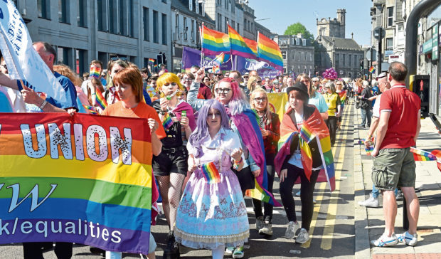 Grampian Pride is one of the groups to benefit