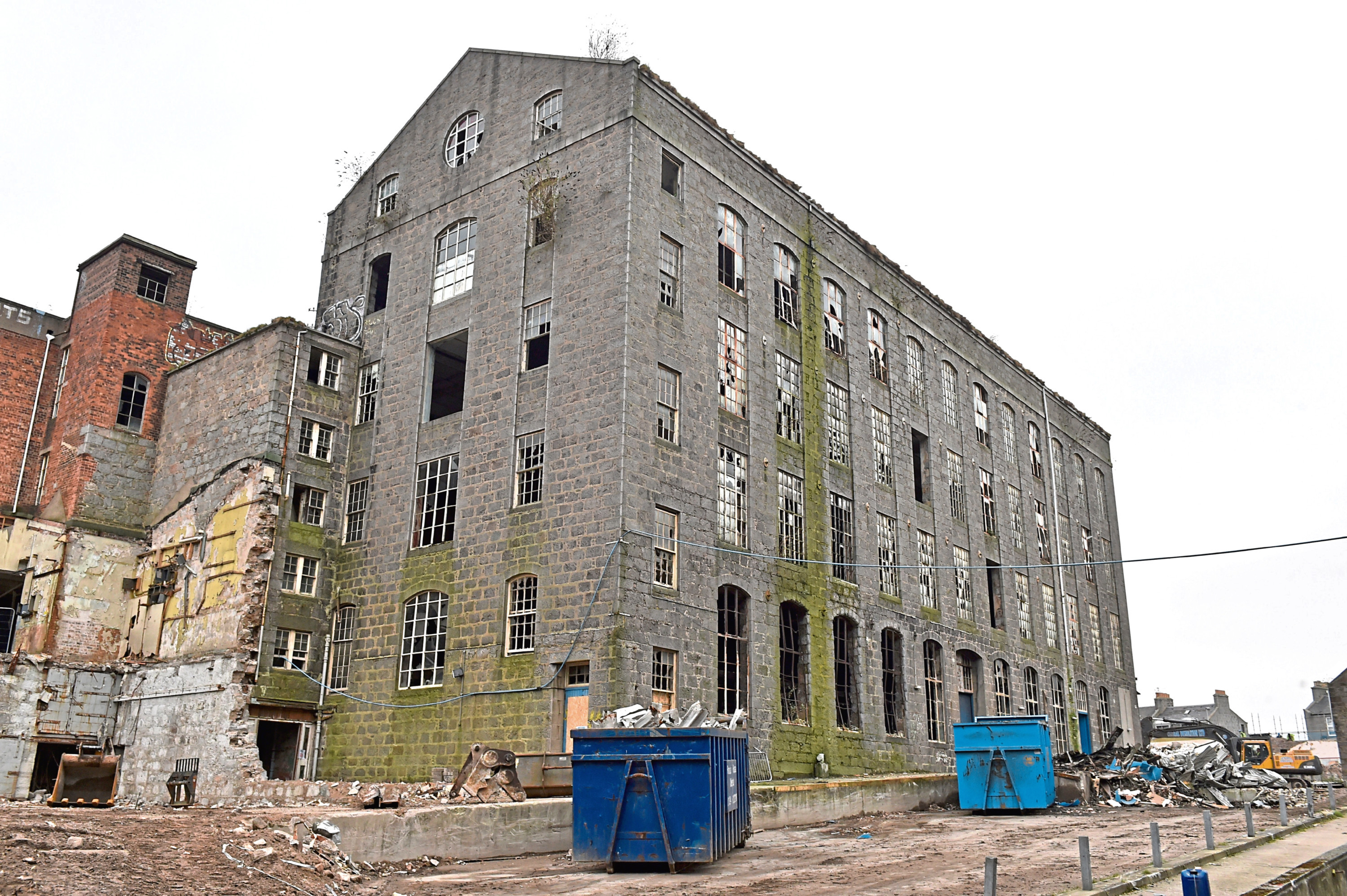 A number of buildings at the Broadford Works site or on the list