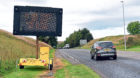 Recent work on the A90 at Ellon