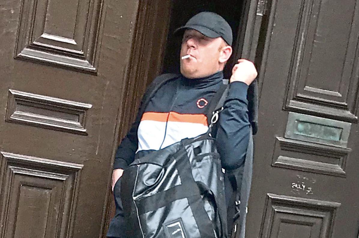 Kenneth McArthur leaving court