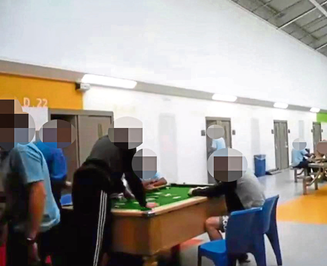Images posted by the inmates online. Facebook