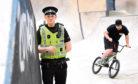 Sergeant Craig Murray, who led Operation Lathe to combat cycle crime