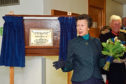 Princess Anne visited Fraserburgh Hospital to celebrate it's 50th anniversary