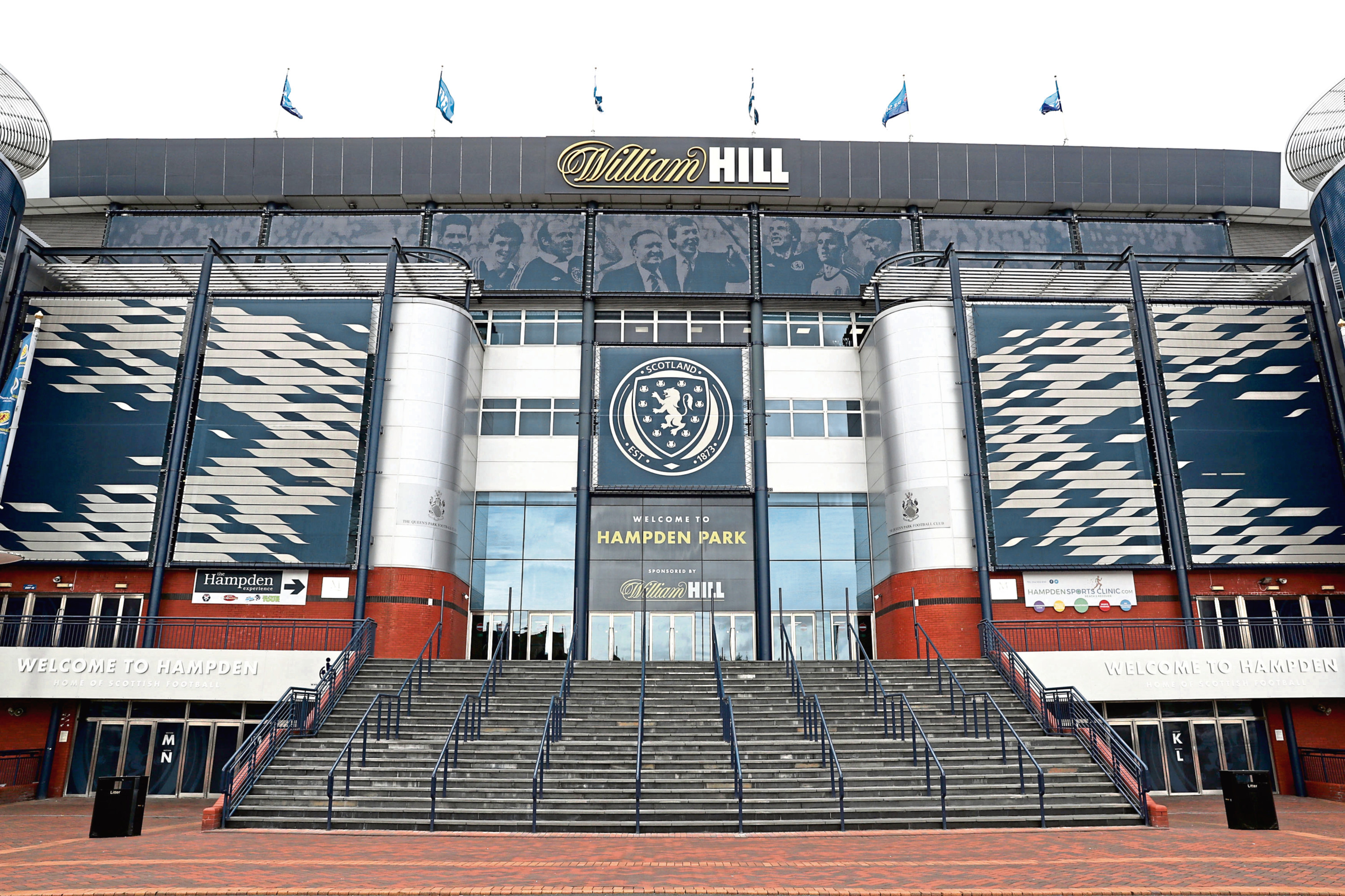 The SFA and SPFL's headquarters, Hampden Park