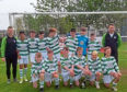 East End Lewis Youth 2005s football group.