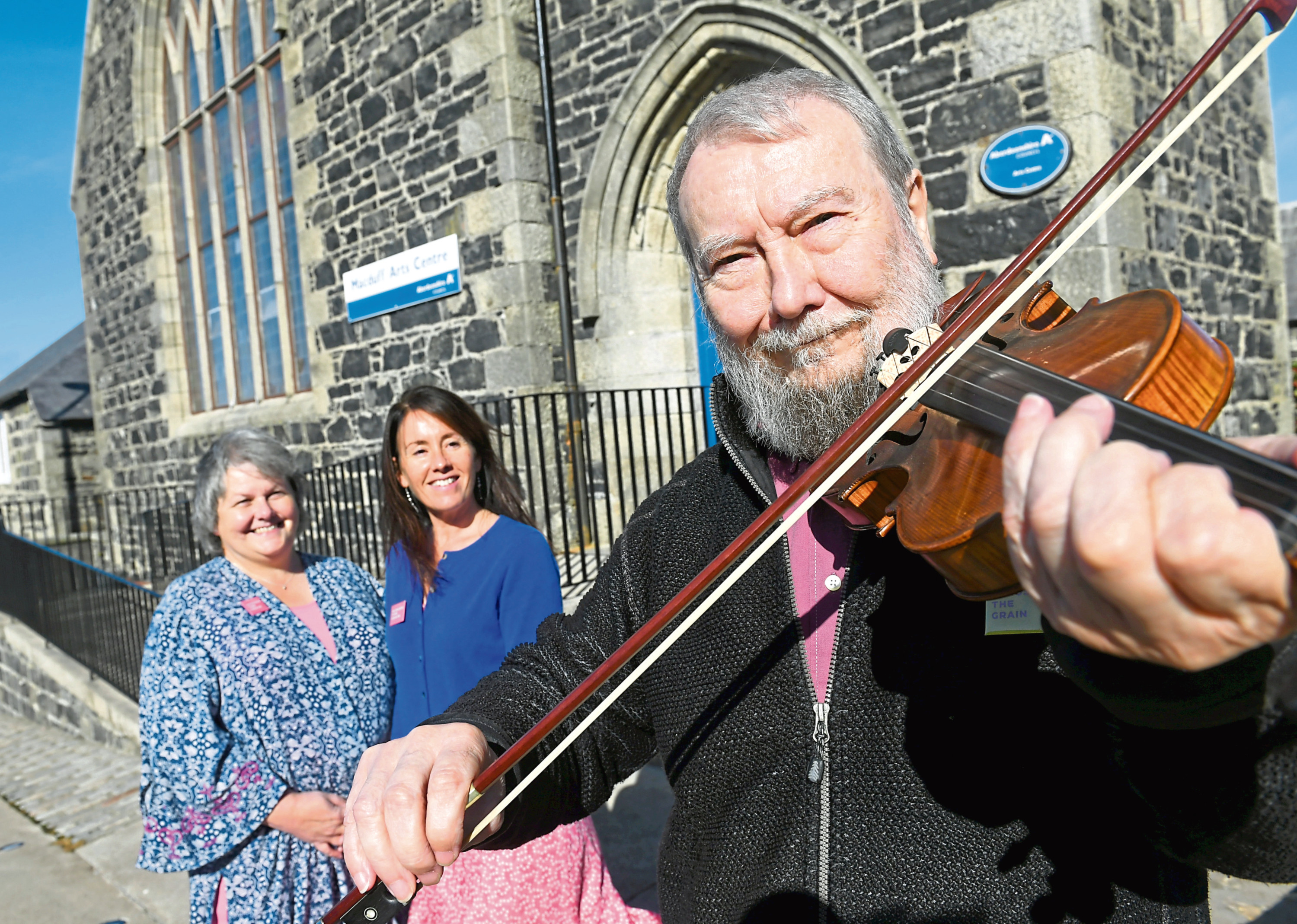 The Across The Grain Festival was launched at Macduff Arts Centre.