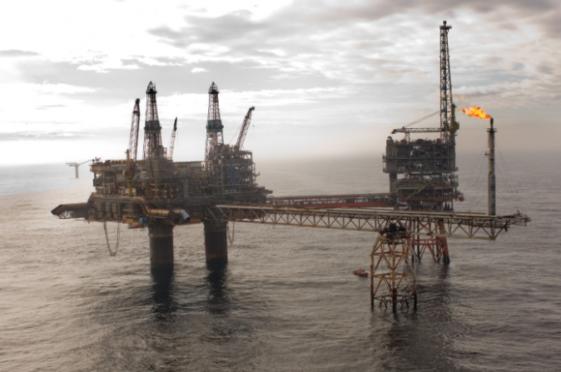 Apache's Beryl Alpha platform in the North Sea