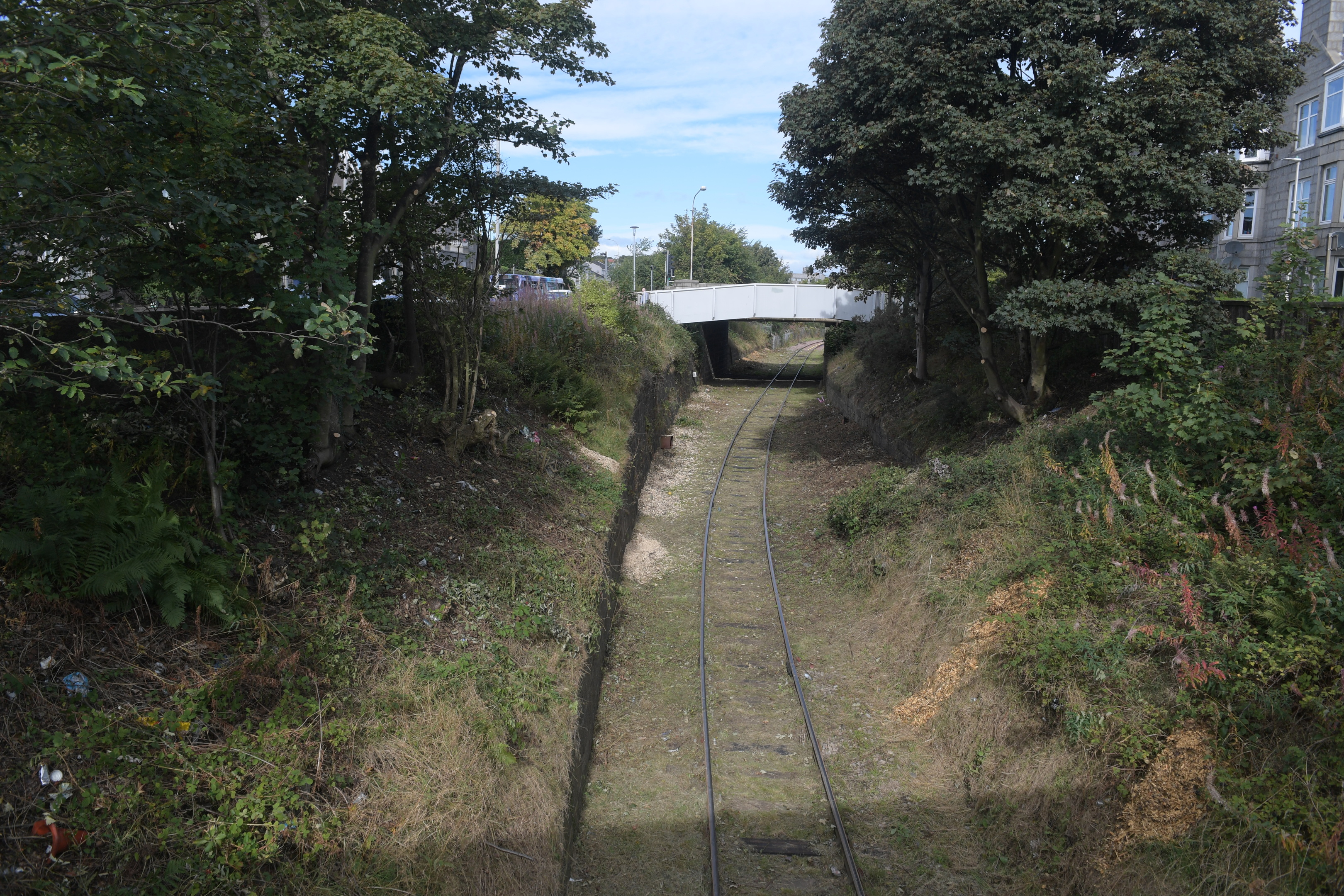 A stretch of the Hanover-Waterloo line near Powis
