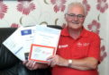 Ronnie Kain has been nominated for volunteer of the year in Aberdeen's Sports Awards. Picture by Kath Flannery