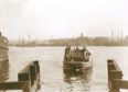 1910: The harbour ferry was a vital link between Torry and Footdee and was always busy.