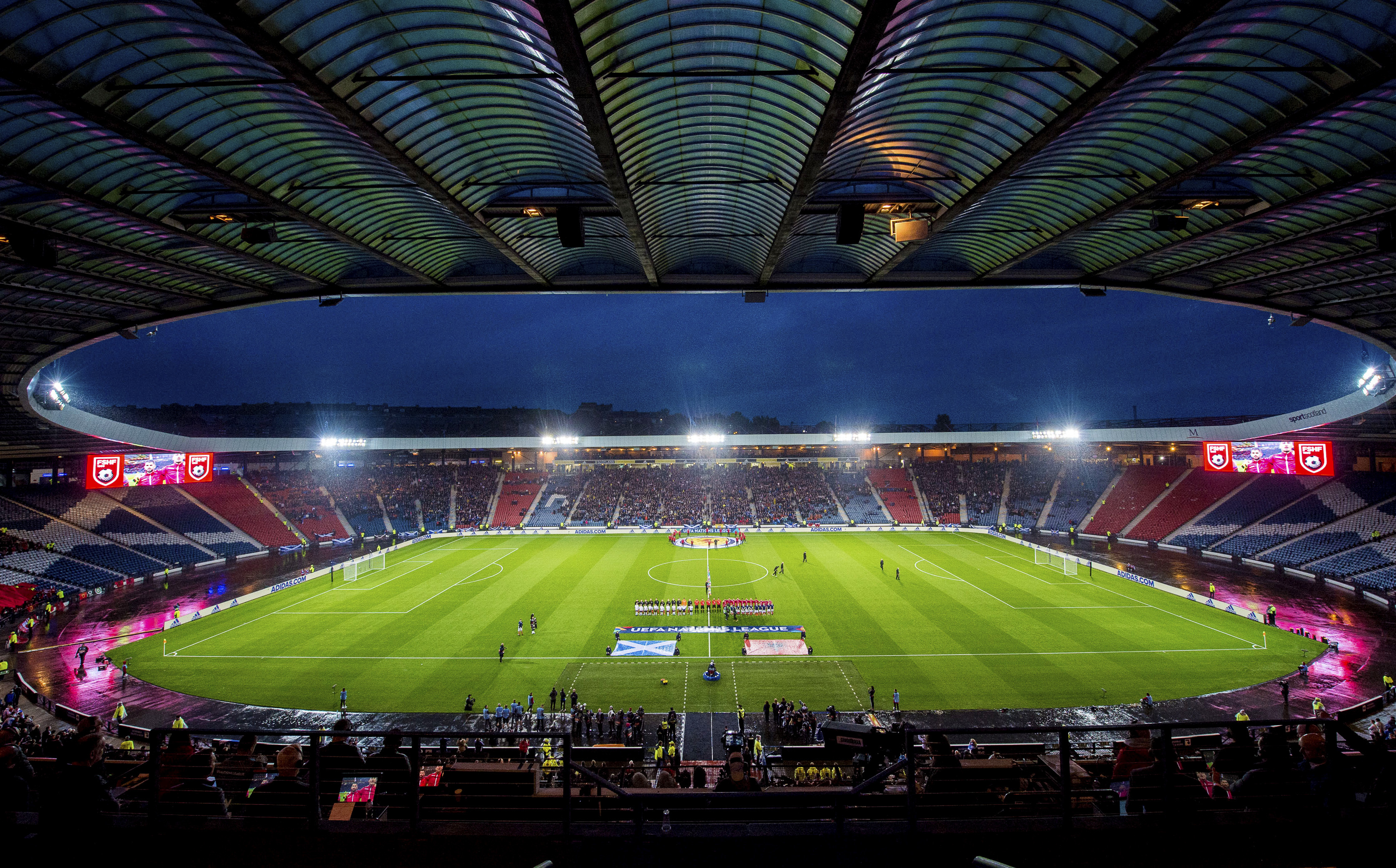 Hampden is scheduled to host two of Scotland's Euros group games.