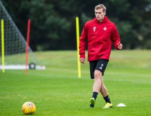 Aberdeen's James Wilson.