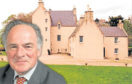 Aberdeenshire councillor Sebastian Leslie's home, Lickleyhead Castle has been repossessed – with the family ordered to leave the premises