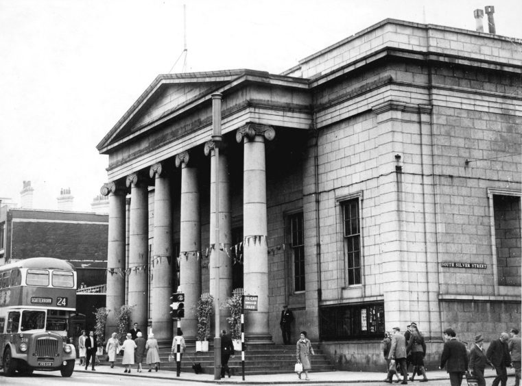 1978: The Music Hall's exterior is unchanged from this picture in 1978