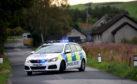 Police at the scene in Sauchen