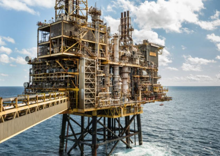 Shell's Shearwater platform in the North Sea