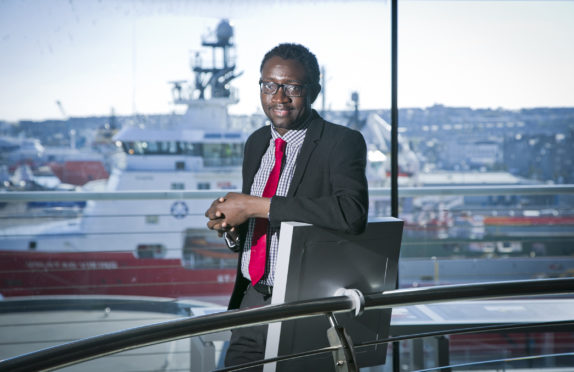 Dr Ollie Folayan, chairman of AFBE-UK Scotland.