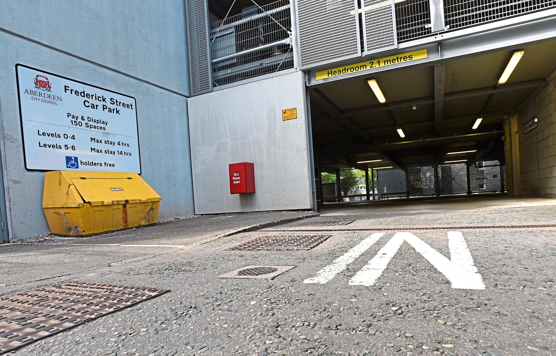 Frederick Street Car Park, Aberdeen