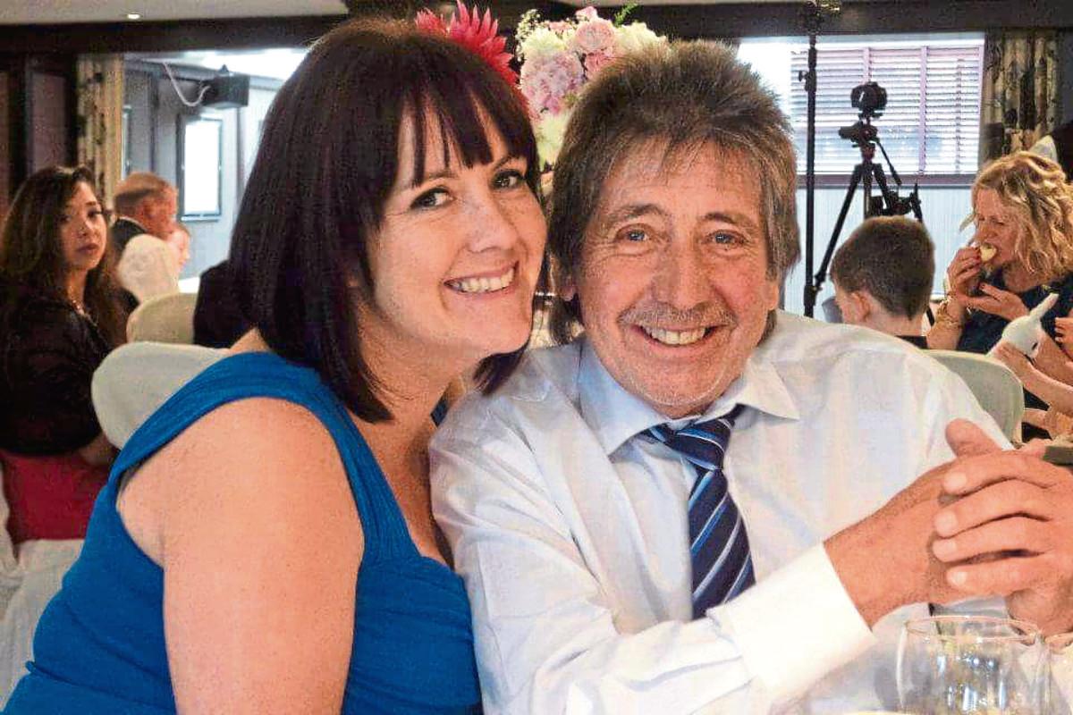 Alex Craigen pictured with his daughter Michelle