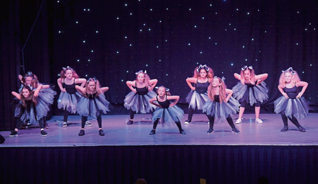 Walker Road Dancers entertain everyone at the event