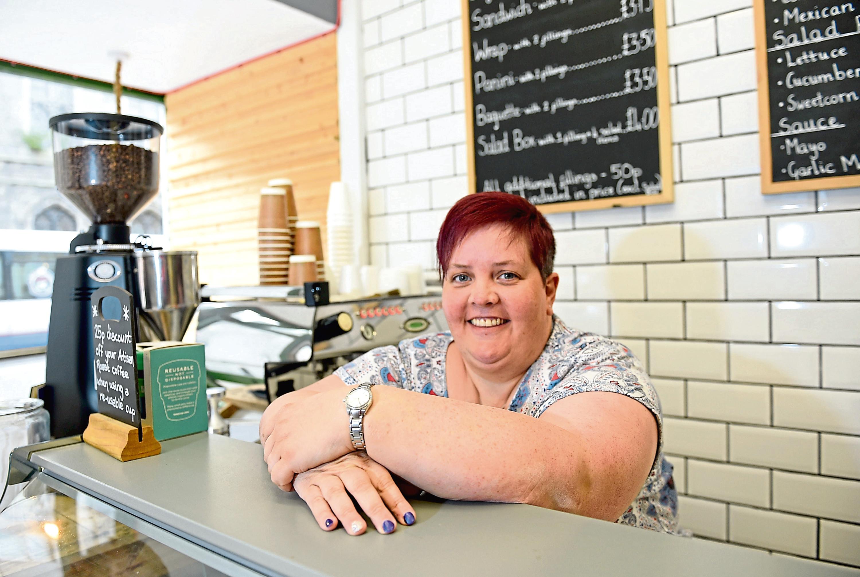 Social Bite area manager Amanda Robertson