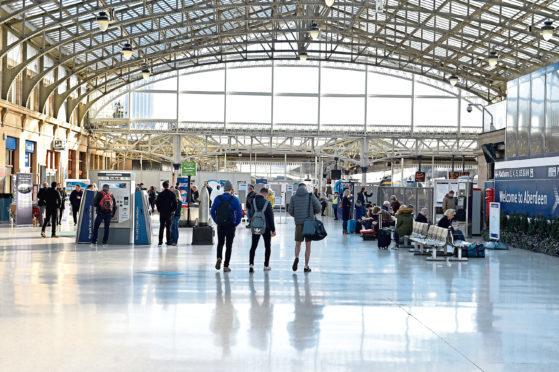 Aberdeen Train Station