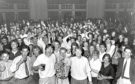 1990: Getting into the swing of things at the annual freshers' dance at the Beach Ballroom last night are Aberdeen University's new students