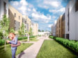 An artist impression of the planned development